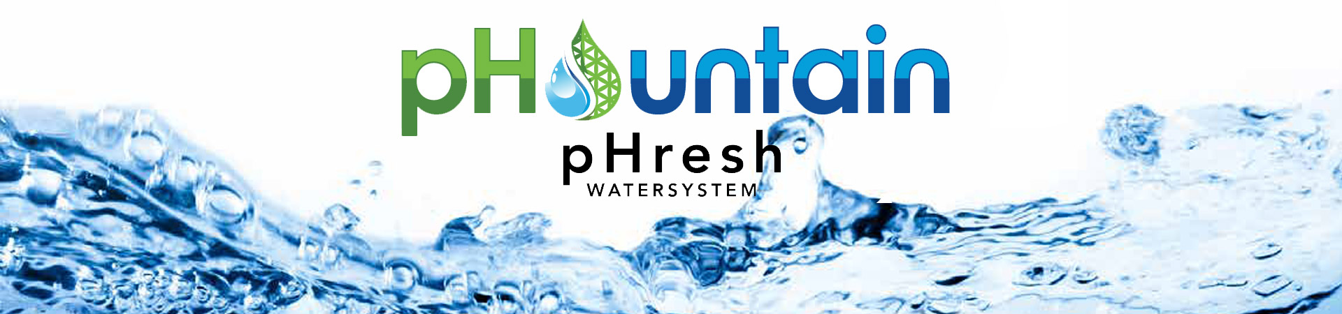 pHountain pHresh Water Filtration System